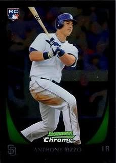 2011 Bowman Chrome Draft Picks Baseball #70 Anthony Rizzo Rookie Card