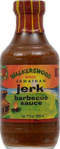 Walkerswood Spicy Jamaican Jerk Barbecue Sauce 17 Ounce