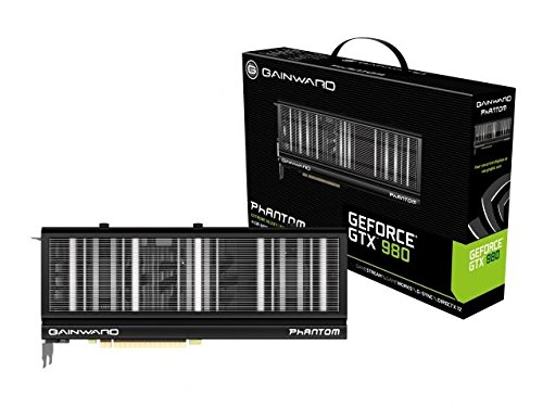 Gainward Nvidia GTX 980 Phantom Grafikkarte (PCI-e 4096, GDDR5, HDMI, DVI, Displayport 1 GPU)