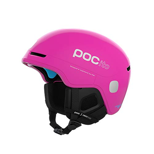 POC Unisex-Youth POCito Obex Spin Helm, Fluorescent Pink, XSS
