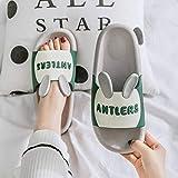 N-B Zapatillas Mingsheng para Mujer, Verano, Parejas, hogar, Interior, Antideslizante, baño, Sandalias y Zapatillas para el hogar Masculinas de Suela Gruesa, Venta al por Mayor