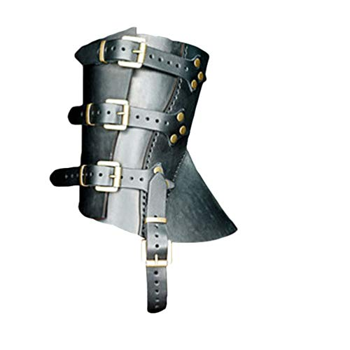GladiolusA Cubrebotas Para Adultos,Carnaval Pelicula De Halloween Cosplay Disfraz Zapatos Negro/Sin zapatos M