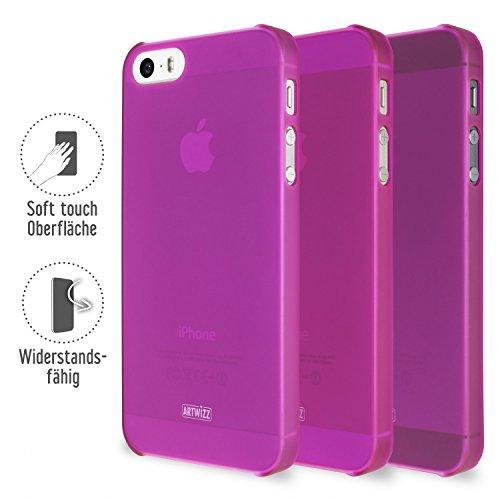 Artwizz 3749-1135 funda para teléfono móvil Púrpura - Fundas para teléfonos móviles (Funda, Apple, iPhone 5 / iPhone 5s, Púrpura)