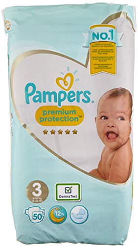 Pampers Windeln Premium Protection, 2,43 kg