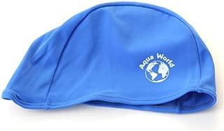 Aqua World Lycra Swim Cap - Blue