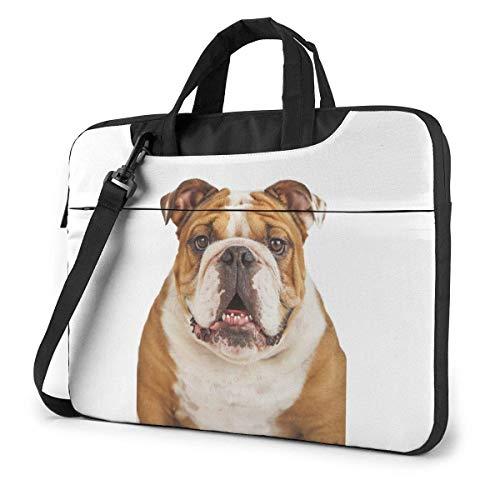 Laptop Umhängetasche 13 Zoll, Brown Dog Aktentasche Schutztasche