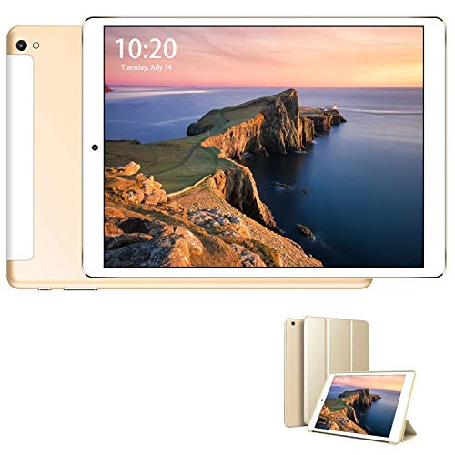 Tablet 4G de 10,1 pulgadas con wifi ofertas Tablet PC 8500 mAh con ranura para tarjeta SIM doble memoria RAM de 3 GB + 32 GB 8 MP cámara Android 9.0 Quad Core Tablet libre WiFi/Bluetooth/GPS/OTG
