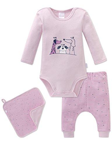 Schiesser Schiesser Baby-Mädchen Puppy Love Unterwäsche-Set, Mehrfarbig (Sortiert 1 901), 62 (3er Pack)