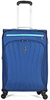 Travelite Soft Case Luggage, Blue - 16094