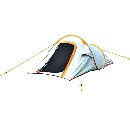 Single Pop Up Tent, Camping Tent with Instant Setup, Windproof Automatic Darkness Tents Blackout Tent Waterproof Outdoor Hiking Tent with Carry Bag -...