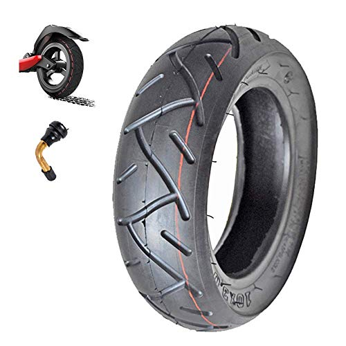 Electric Scooter Tires, 10x3.0 Vacuum Pneumatic Tires, Widened Non-Slip, Strong Body Mini Harley Electric Vehicle Tire Accessories,Electric Scooter Tire Accessories
