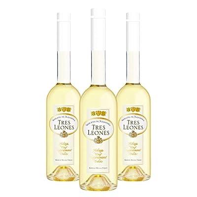 "Tres Leones - 3 bottles 50cl Pack - Naturally sweet wine D.O.""Málaga"""