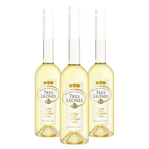 Pack Tres Leones - 3 botellas de 50cl - Vino naturalmente dulce D.O.Málaga