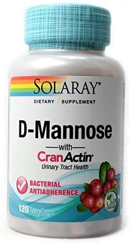 D-Mannose with CranActin Solaray 120 VCaps