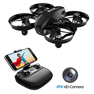 Potensic Mini Drone, WiFi FPV Nano Drone Remote Control Altitude Hold Quadcopter for Beginners, Kids from Potensic
