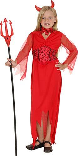 Ciao Diavoletta Costume Bambina (Taglia 5-7 Anni) Disfraces, Donna, Niñas