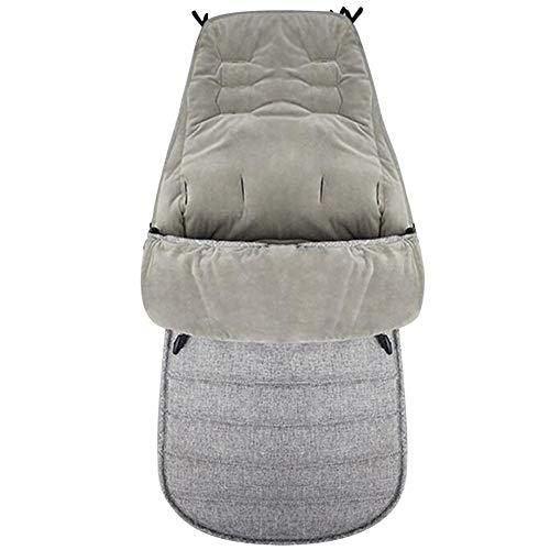 Kuyoly A prueba de viento caliente bebé cochecito de bebé saco de dormir manta para bebé niños Cochecitos Accesorios
