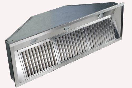ZLINE 34 in. 1200 CFM Range Hood Insert in Stainless Steel (695-34) Custom Hood Liner Insert