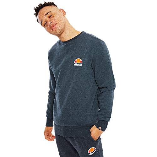 ellesse Sweater Herren DIVERIA Sweatshirt Grau Dark Grey Marl, Größe:L