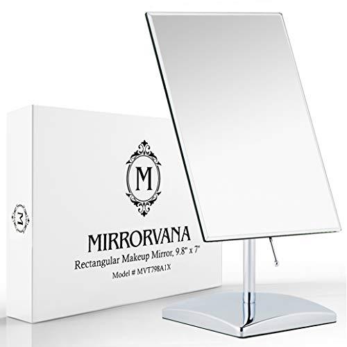 Mirrorvana Tischspiegel groß, Spiegel Tisch (1 Fach)