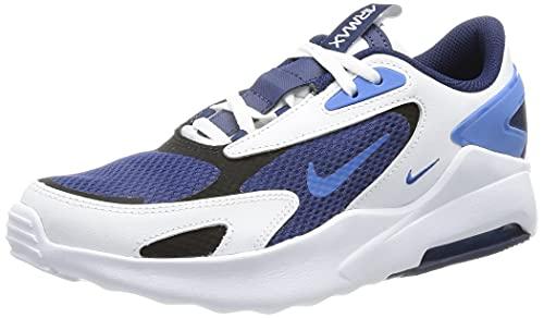 Nike Chaussures de Course Air Max Bolt Unisexe pour Enfant. - - Blue Void Signal Blue White Black, 28.5 EU