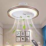 Ventiladores de Techo con iluminación LED, Ajustable Techo LED 42W Fan-iluminación, Ajustables con silenciosa Vida de la lámpara de Techo de una Velocidad del Viento del Ventilador de for.
