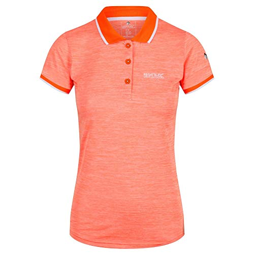 Regatta Womens Remex II Quick Dry Wicking Active Polo Shirt