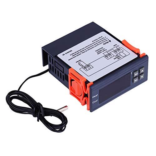 Termostato digital AC 110V-220V Controlador de temperatura digital Termostato Modos de calor y frío