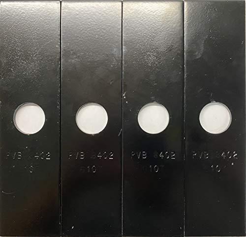 Rotary 4 Pack, Heat Hardened (Longer Life) Edger Blades Replace Ryobi 613223, Echo 720-237-001, Stihl 4133-713-4101, Maruyama 216062. Green Machine 237001