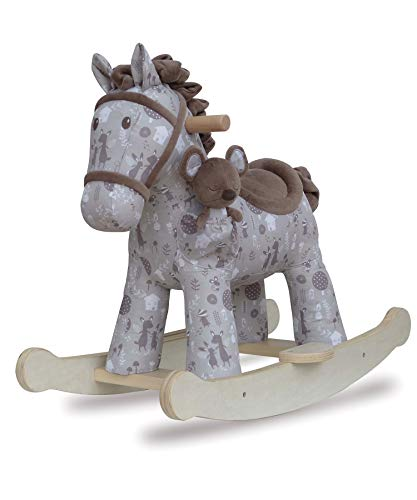 Little Bird Told Me - Biscuit & Skip - Infant Rocking Horse