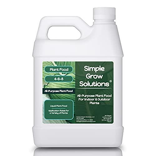 All Purpose Plant Food - Simple Grow Solutions - Liquid Fertilizer for Indoor...