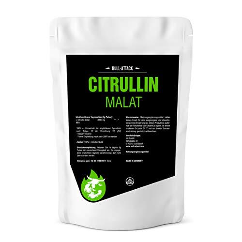Malate de citrulline - 250 g de poudre pure sans...