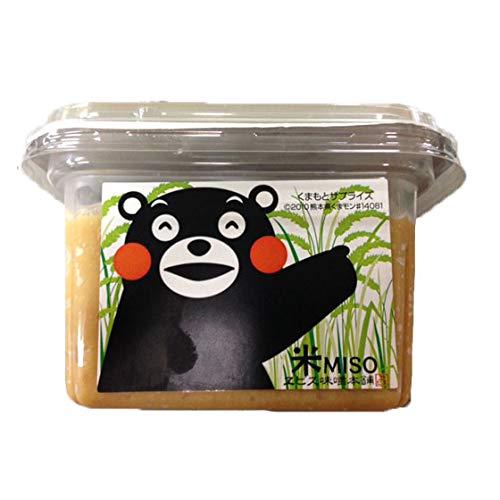 くまモン米味噌 300g×10個 貝島商店 熊本伝承のこだわりの木樽仕込み味噌