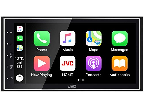 JVC KWM745DBT 2 DIN DAB incl. antenne Bluetooth Android auto met inbouwset voor VW Polo (9N) tot 2009 met ISO