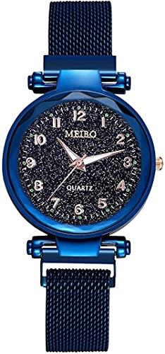 JZDH Reloj de Pulsera, Reloj de Cuarzo con Conciencia de Tiempo Digital de 5-16 años de Edad, Reloj de Cuarzo Luminoso Impermeable