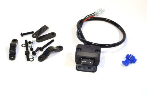 WARN 69206 Winch Accessory: Handlebar Mounted Mini-Rocker Control Switch