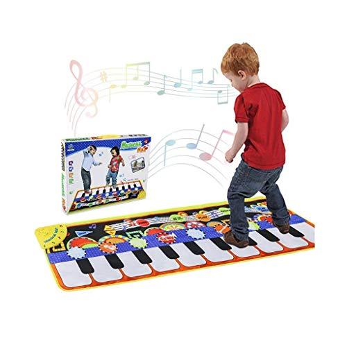 LXESWM Kids Tapijt Muziek Piano Tapijten Baby Activiteit Spelen Mat Antislip Comfortabele Zachte Baby Crawling Mat Children's Slaapkamer Accessoires Home Decor