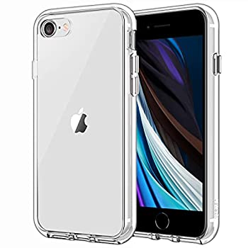 JETech Case for iPhone SE 2020 2nd Generation iPhone 8 and iPhone 7 4.7-Inch Shockproof Bumper Cover Anti-Scratch Clear Back Clear