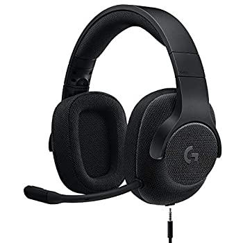 Logitech G433 7.1 Wired Gaming Headset with DTS Headphone  X 7.1 Surround for PC PS4 PS4 PRO Xbox One Xbox One S Nintendo Switch – Triple Black