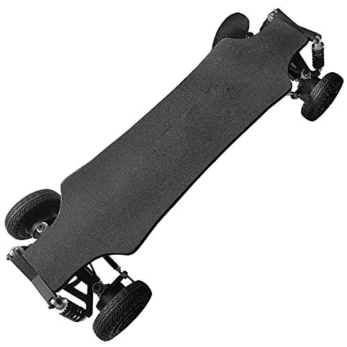 SSCYHT Skateboard Eléctrica de Montaña Suspensión Independiente Control Remoto OLED 45km/h Motor...