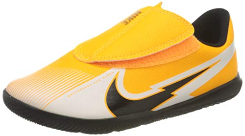 Nike Jr. Vapor 13 Club IC PS (V), Football Shoe, Laser Orange/Black-White-Laser Orange, 30 EU