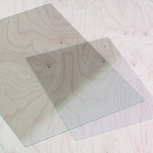 Windradfolie, PVC-Folie, 0,4 mm dick, klar (50 x 70cm, 4 Stück)