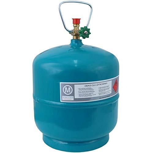 Leere befüllbare Gasflasche 3 kg / 7,2L Camping Grill Boot Propan Butan Gas