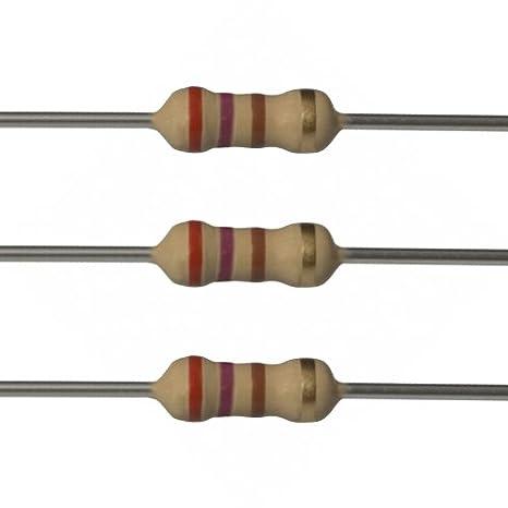 0029 Kohleschicht Widerstand Resistor 270 Ohm 1W 5/% 10 Stück