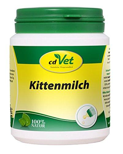 cdVet Naturprodukte Kittenmilch 90 g - Katze - Milchaustausch-Ergänzungsfuttermittel - Ersatzmilch - Vermeidung von Verdauungsstörungen - hochwertiges Kolostrum - Schutz vor Mangelernährung -