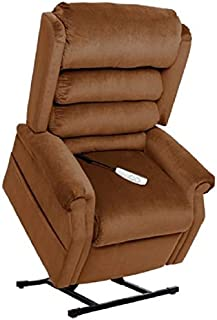 """MM-1950LT Tall Man Galaxy Mega Motion Power Lift Recliner Chair. (Copper) Suggested User Height: 5'10"""" to 6'6"""". Weight Capacity 375 Lbs. Free Curbside Delivery"""