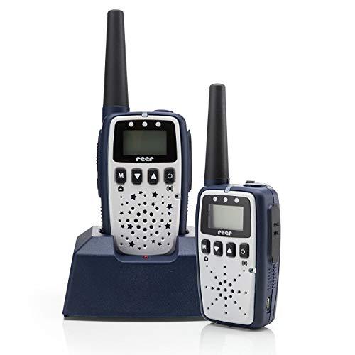 Reer Care&Talk 2-in-1 babyphone en walkietalkie, tot 5 km bereik