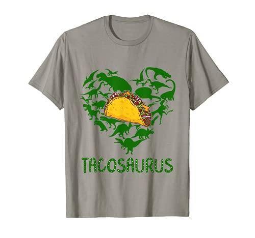 Tacosaurus Cinco De Mayo Taco dinosaurio Trex Fiesta Kids Gift Camiseta