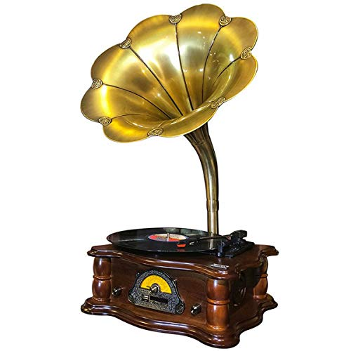 Why Choose THMY Retro Gramophone 3 Speed 33/45/78 RPM Vinyl Record Player Suitable for Living Room a...