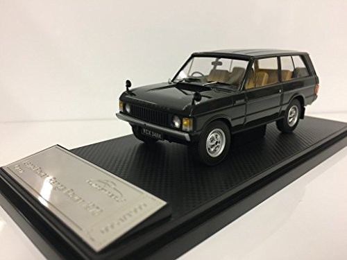 Almost Real 410104 - Range Rover 1970 Green - Escala 1/43 - Vehiculo en Miniatura - diecast